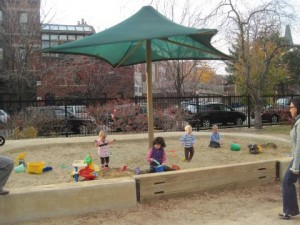 Adams Park Sandbox Chicago
