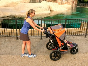 Incorrect Stroller Form for exercise