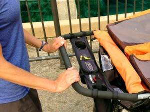 Incorrect Wrist Position for stroller exercise