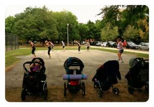 Moms Stroller Fitness Class