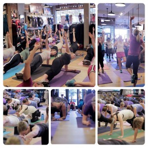 Active Moms Club Free Class at Athleta Chicago