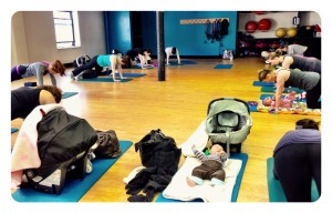 New Moms Exercise Class at Active moms club