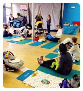 Active Moms Club Postnatal Exercise Class 1