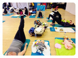 Active Moms Club Postnatal Exercise Class 4