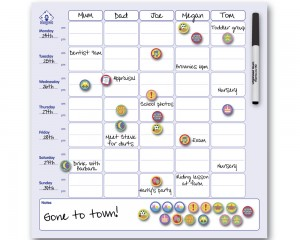 magnetic-family-organizer Active Moms Club