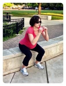 Prenatal Exericse Squats Active Moms Club