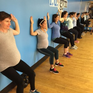Prenatal_Wallsit Active Moms Club