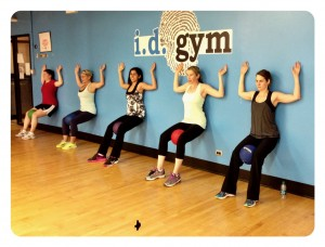 Active Moms CLub Fitness Challenge_wall
