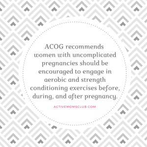 ACOG Guidelines pregnancy quote