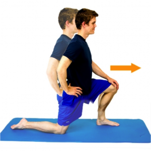 Half Kneel Hip Flexor stretch