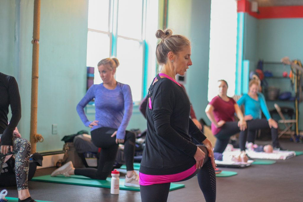Active Moms Club Postnatal Recovery Class