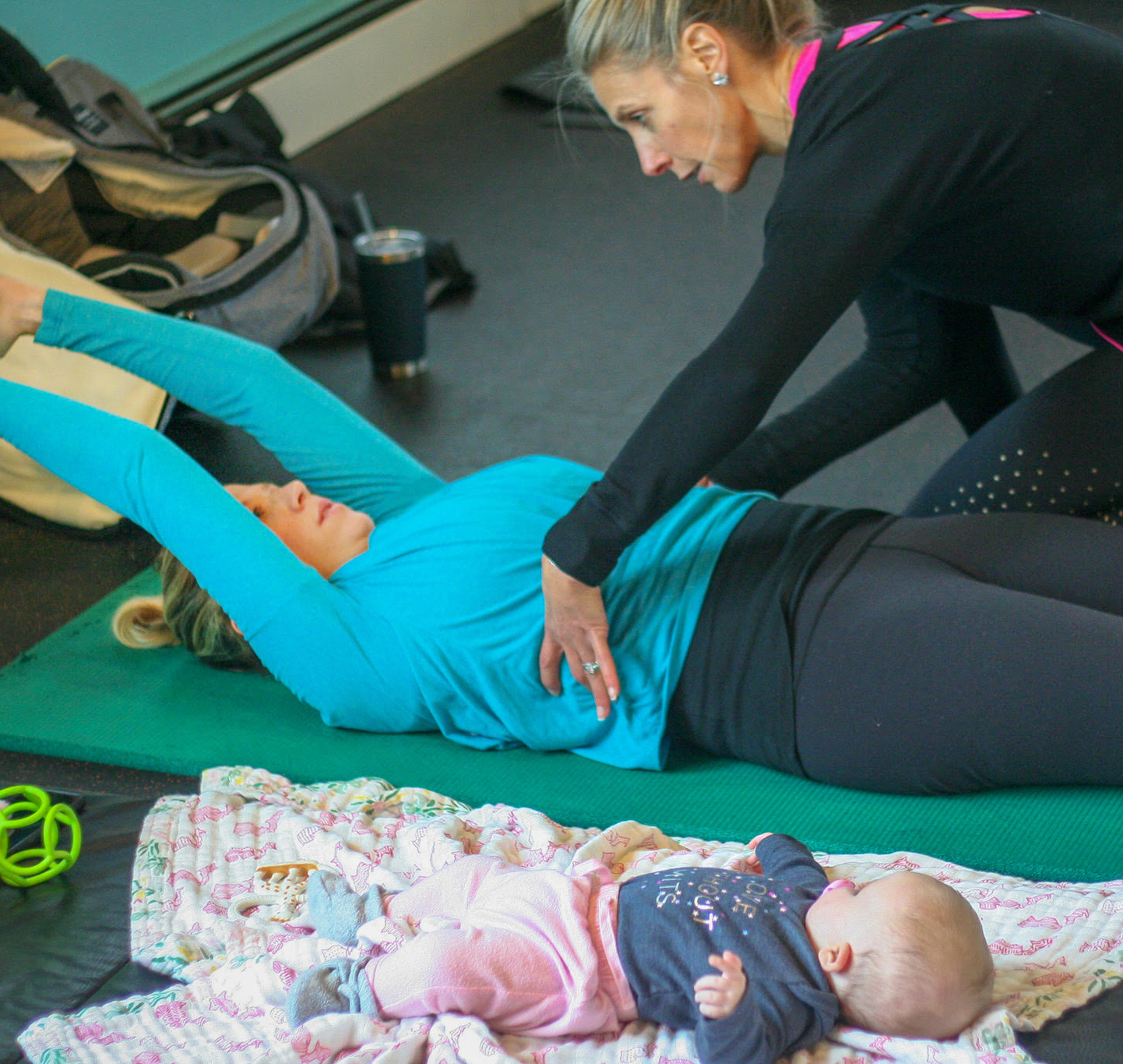 Post-Baby Body Express Training Package | Active Moms Club