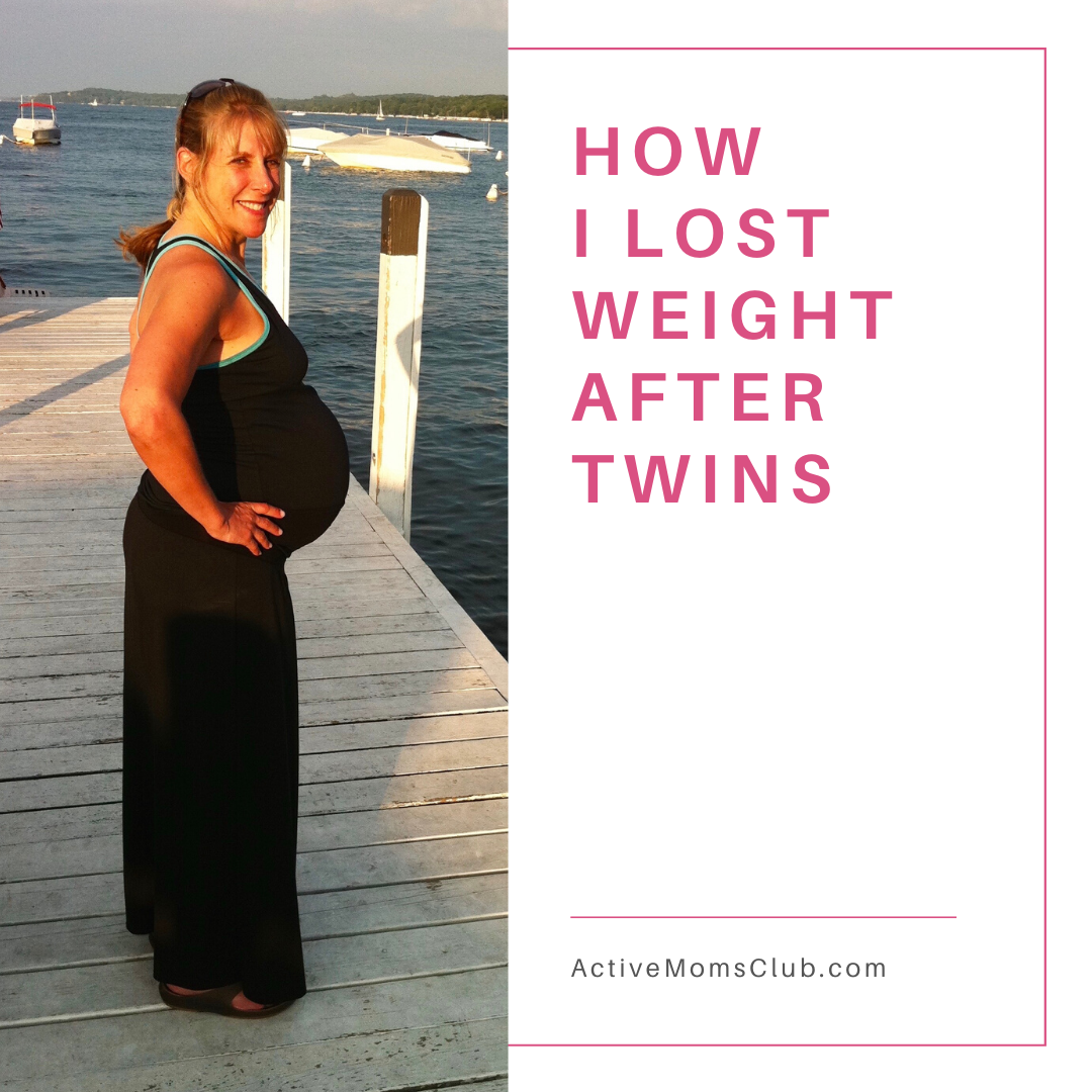 How I lost weight after twins