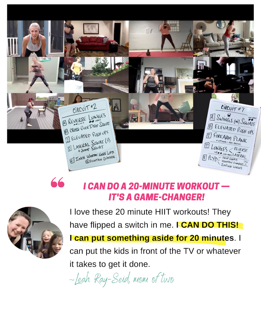 20-Minute Hiit-collage
